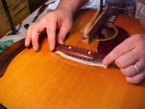 Guitar Bridge Repair